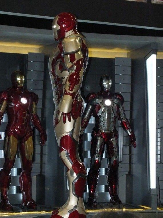 DSCF3085 570x760 Iron Man 3 Armor   Comic Con 2012   #6