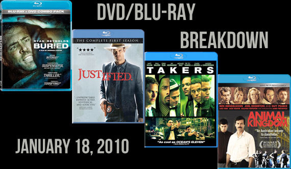 DVD Blu ray Releases Janaury 18 2011 DVD/Blu ray Breakdown: January 18, 2011