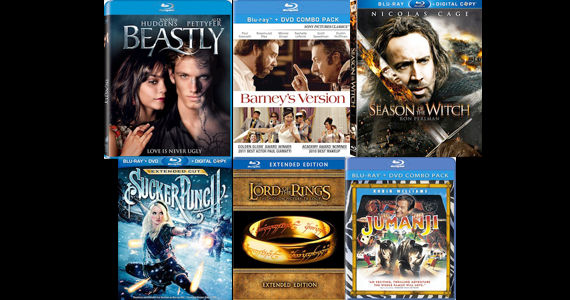 DVD Blu ray Releases June 28 2011 DVD/Blu ray Breakdown: June 28, 2011