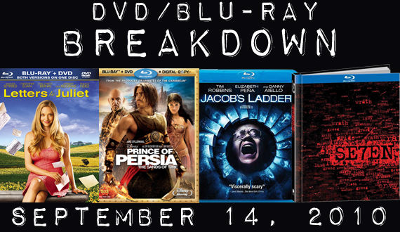 DVD Blu ray Releases September 14 DVD/Blu ray Breakdown: September 14th, 2010