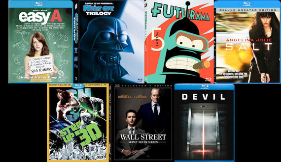 DVD Blu ray releases December 21st DVD/Blu ray Breakdown: December 21st, 2010