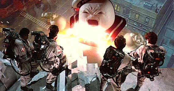 Image result for stay puft marshmallow man fire