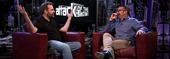 Dan Harmon Marc Maron Attack of the Show  FOX Talking To Community Creator For New Show