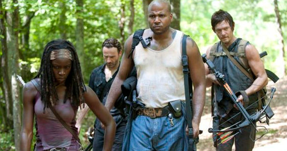 Danai Gurira Andrew Lincoln Vincent Ward Norman Reedus The Walking Dead When the Dead Come Knockin The Walking Dead Season 3, Episode 7 Review   Pleased to Meet You
