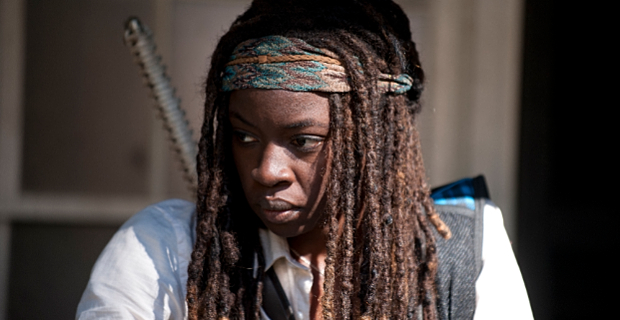 Danai Gurira in The Walking Dead Season 4 Episode 11 The Walking Dead: Abraham Ford Brings the Series Exactly What it Needs