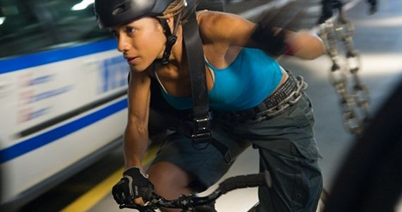 Dania Ramirez in Premium Rush  Premium Rush Star and Director Talk NYC Bicycle Culture & Survival Skills