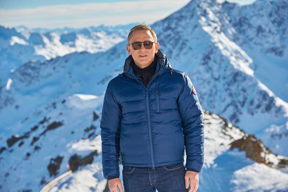 james bond spectre ski scene