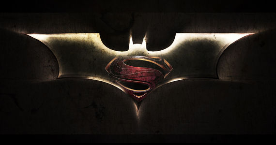 Dark Knight Man of Steel Logo Mashup DC Movie Universe: Are Solo Character Films the Right Road to Justice League?