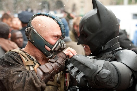 Dark Knight Rises Batman vs. Bane