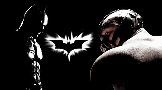 Dark Knight Rises Batman vs. Bane Header Dark Knight Rises & Amazing Spider Man Trailer Showdown