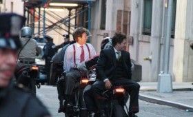 Dark Knight Rises Mercenaries With Hostages On Bikes 280x170 Dark Knight Rises On Wall Street; Batwing Soars & A Mystery Device