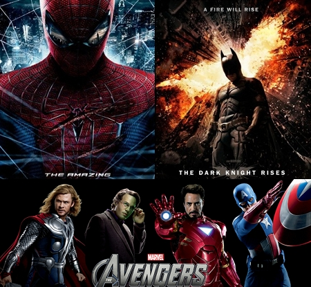 Dark Knight Rises vs Avengers vs. Amazing Spider-Man Discussion