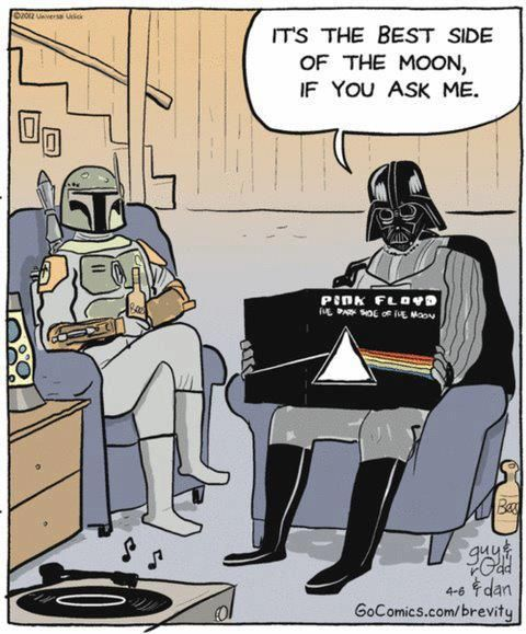 Darth Vader on Pink Floyd Darth Vader on Pink Floyd