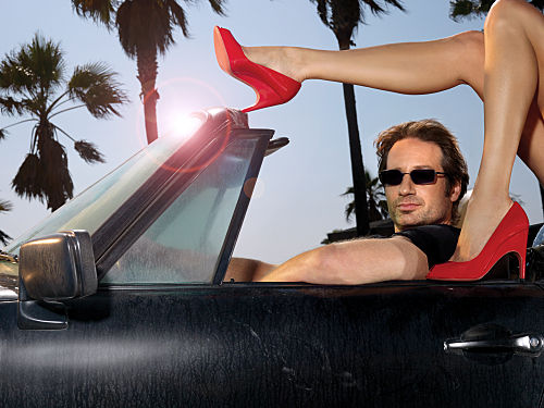 David Duchovny in Californication Kristen Bell Joins Don Cheadle For Showtimes House of Lies