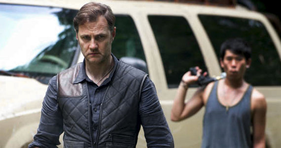 David Morrissey The Governor AMC Walking Dead Season 4 Character Death Spoiled by AMC Line of Sight Pilot Casting?