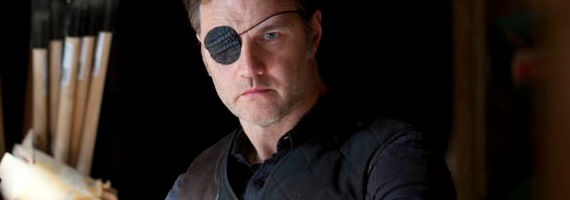 David Morrissey in The Walking Dead Arrow on the Doorpost The Walking Dead Season 3, Episode 13 Review – In Good Faith