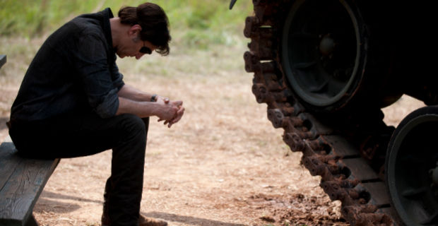 David Morrissey in The Walking Dead Season 4 Episode 7 The Walking Dead: Where Theres a Tank, Theres a Way