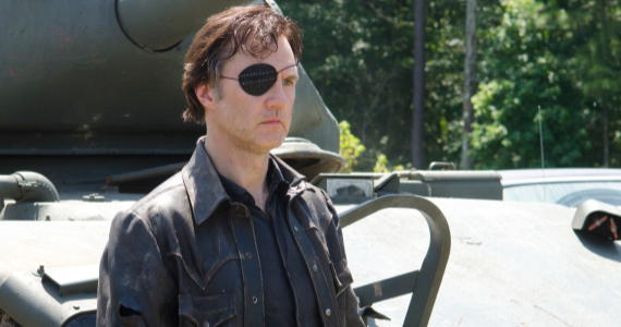David Morrissey in The Walking Dead Season 4 Episode 8 The Walking Dead Season 4 Mid Season Finale Review