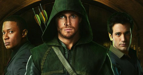 David Ramsey Stephen Amell Arrow The CW Comic Con 2012 Schedule: Friday July 13th