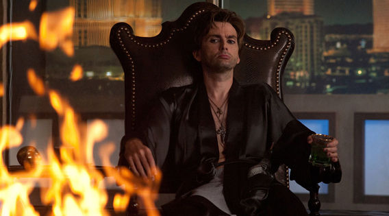 David Tennant as Peter Vincent in Fright Night1 Fright Night Review
