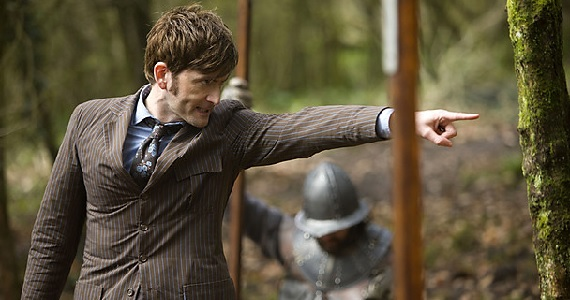 David Tennant as the Tenth Doctor Doctor Who 50th Anniversary Special Images & Plot Details