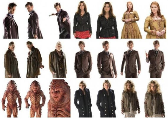 Day of the Doctor Who Characters