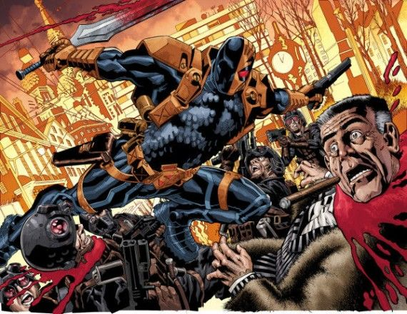 Deathstroke Kills J. Jonah Jameson 570x440 DC Comics New 52 Reboot: The Complete Guide