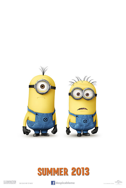 Despicable Me 2 Teaser Poster – Minions Despicable Me 2 Minions Poster