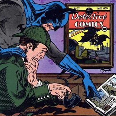 Detective Comics 572 Batman Sherlock Book Cover