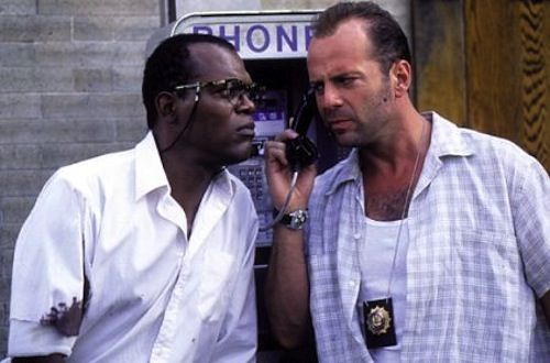 Die Hard With A Vengeance Bruce Willis Samuel L. Jackson The 10 Best Movie Threequels of All Time