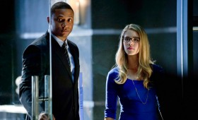 Diggle and Felicia in Arrow Season 2 280x170 Arrow Season 2 Premiere Images & Synopsis: Oliver vs. the Hostile Takeover