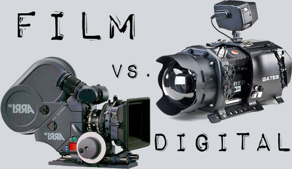 Digital Cameras versus Film Cameras Movie Technology: The Continuing Battle of Film vs. Digital