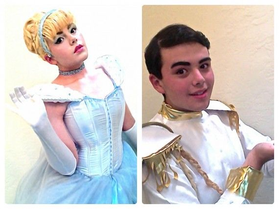 Disney Couple Cosplay 570x427 SR Geek Picks: Stan Lee Cologne, Sweded Enders Game Trailer, Star Wars Wedding Photo & More
