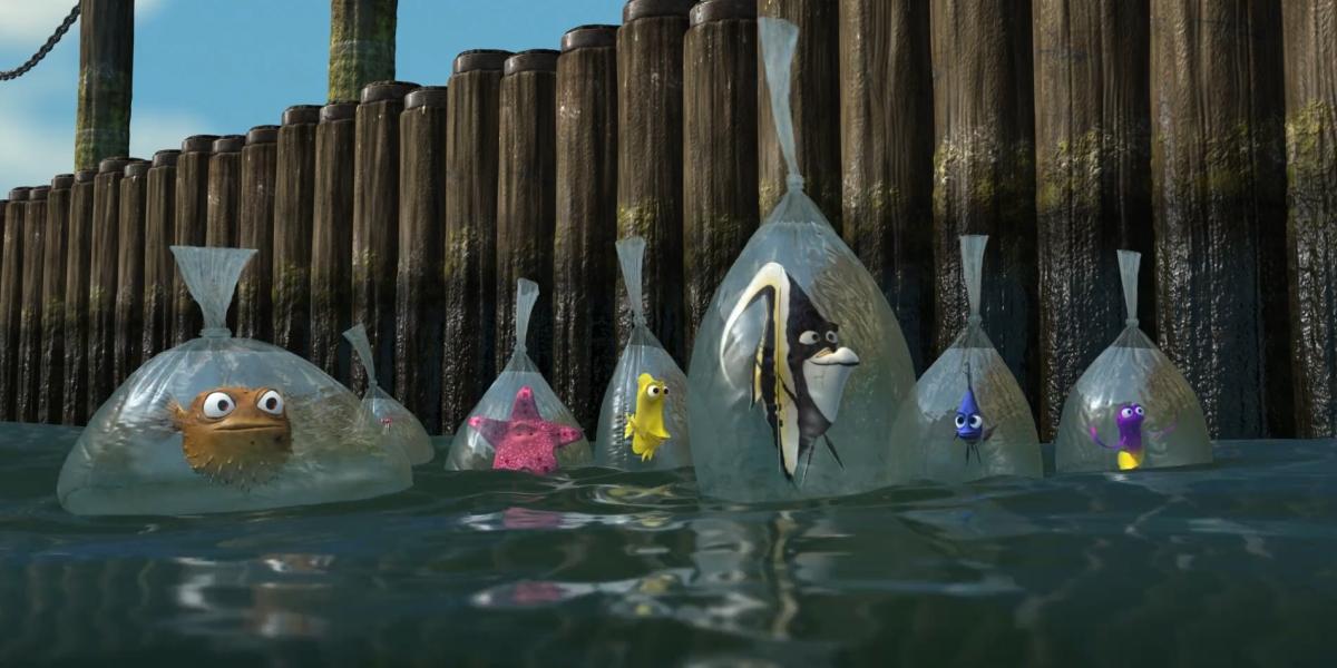 Finding Nemo Disney Walt Disney Movies Fish Animation: 10 Disney Movie Mistakes That Slipped Through Editing