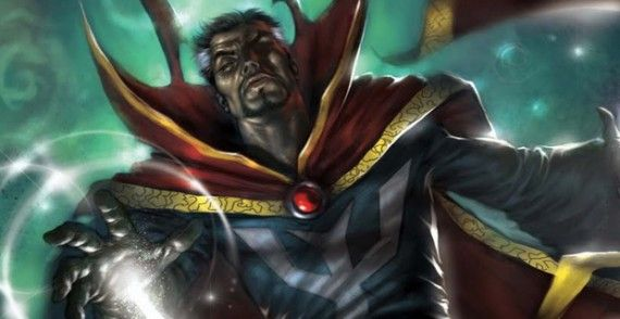 Doctor Strange Marvel Comics Cover Art 570x294 Kevin Feige Says 'Doctor Strange Doesn't Require a Movie Star