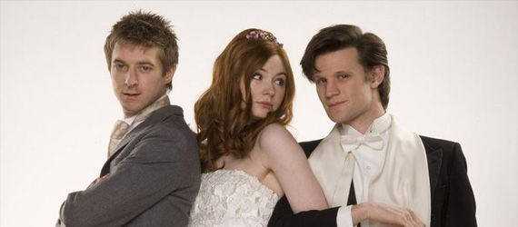 Doctor Who Angel take Manhattan details Amy and Rory Wedding Doctor Who Season 7: Details of Amy & Rorys Final Episode