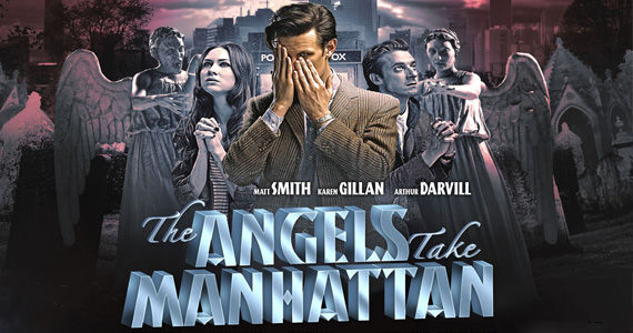 Doctor Who Angel take Manhattan details Doctor Who Season 7: Details of Amy & Rorys Final Episode