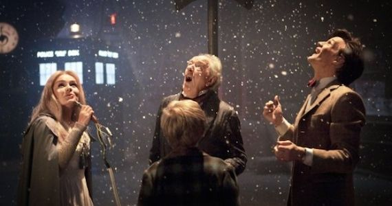Doctor Who Christmas Carol Matt Smith Talks Doctor Who Christmas Special & His Future as the Eleventh Doctor