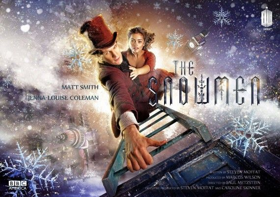 Doctor Who Christmas Special Poster 570x402 Doctor Who 2012 Christmas Special Spoiler & Official Snowmen Poster