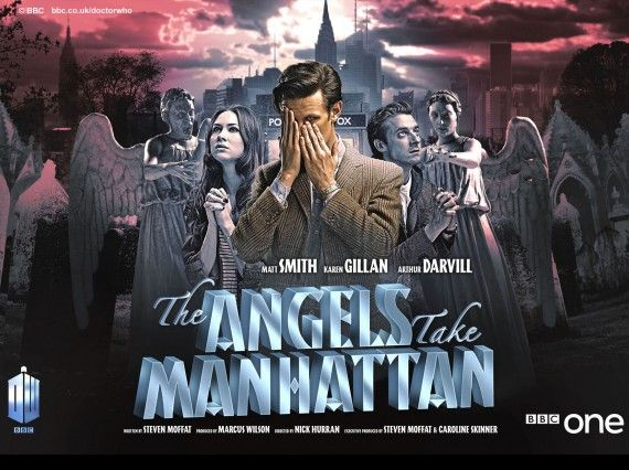 Doctor Who Episode Poster The Angels Take Manhattan 570x426 Doctor Who Episode Poster   The Angels Take Manhattan