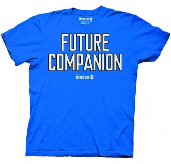 Doctor Who Future Companion Blue T Shirt 570x546 SR Geek Picks: Willie Nelsons Hobbit 2 Audition, Star Wars VII Fan Posters & More