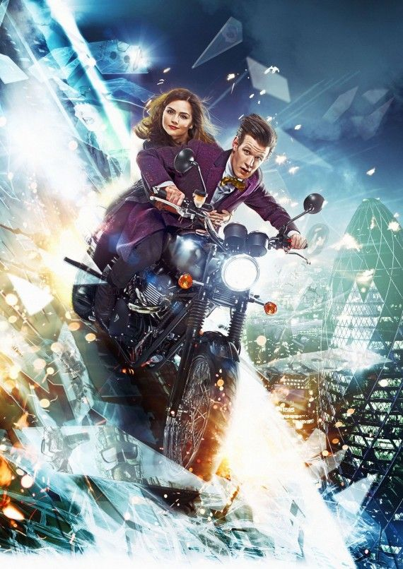 Doctor Who Mid Season 7 Poster 570x806 Doctor Who Series 7 Mid Season Poster & Premiere Details; Ice Warriors Returning