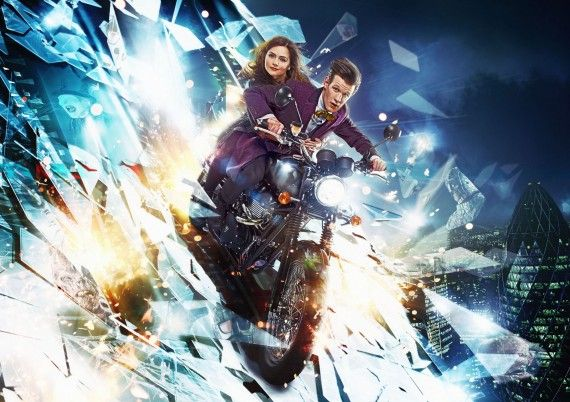 Doctor Who Mid Season 7 Premiere 570x402 Doctor Who Series 7 Mid Season Poster & Premiere Details; Ice Warriors Returning