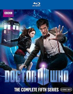 Doctor Who Series 5 DVD Blu ray box art DVD/Blu ray Breakdown: November 9, 2010