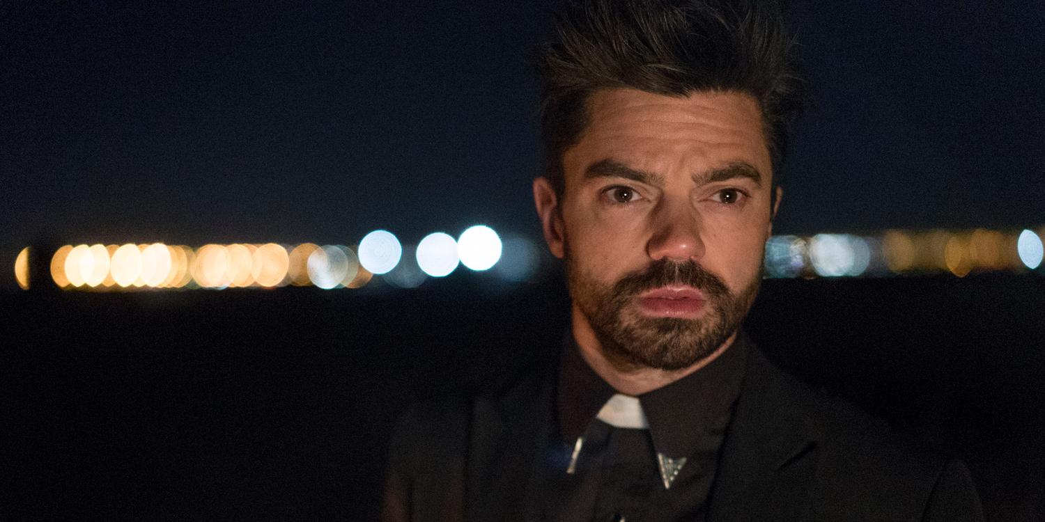 Dominic Cooper as Jesse Custer in Preacher Season 1 Episode 2 Preacher Gets Bloody & Hilarious in Its Second Episode