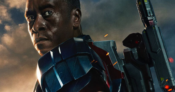 Don Cheadle Iron Patriot Armor Official Iron Man 3 Cast and Director Offer Character & Plot Details   Including Iron Patriot