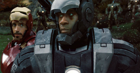 Don Cheadle War Machine Armor Don Cheadle Hints at War Machine in The Avengers 2