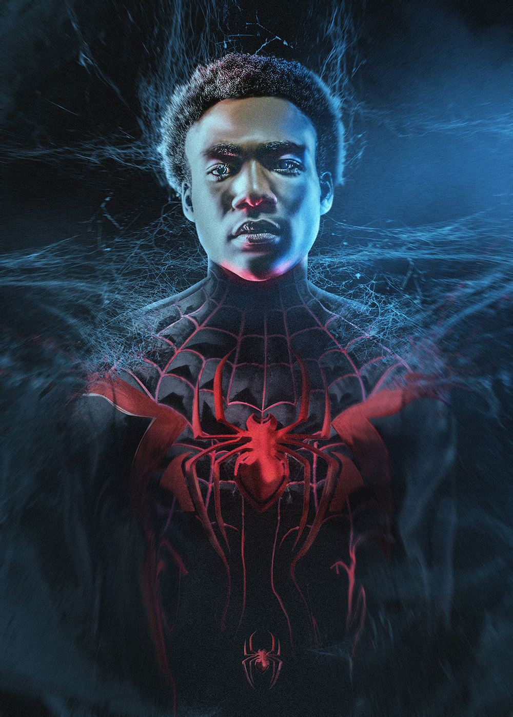 What Donald Glover Looks Like As Spider-Man's Miles Morales