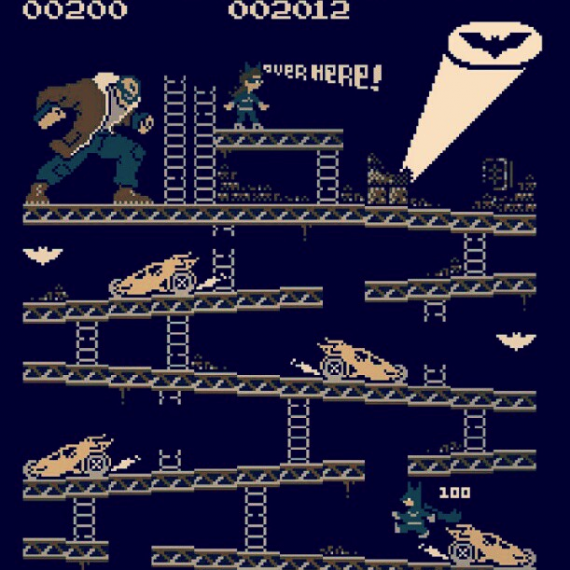 Donkey Kong Rises 570x570 SR Geek Picks: Bane After Batman, Batgirl Trailer, Dark Knightfall Short Film & More