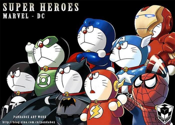 Doraemon Superhero Style SR Geek Picks: Hangover Trilogy Remix, Arrested Development Running Gags & More!